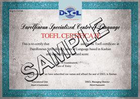 BSCL TOEFL